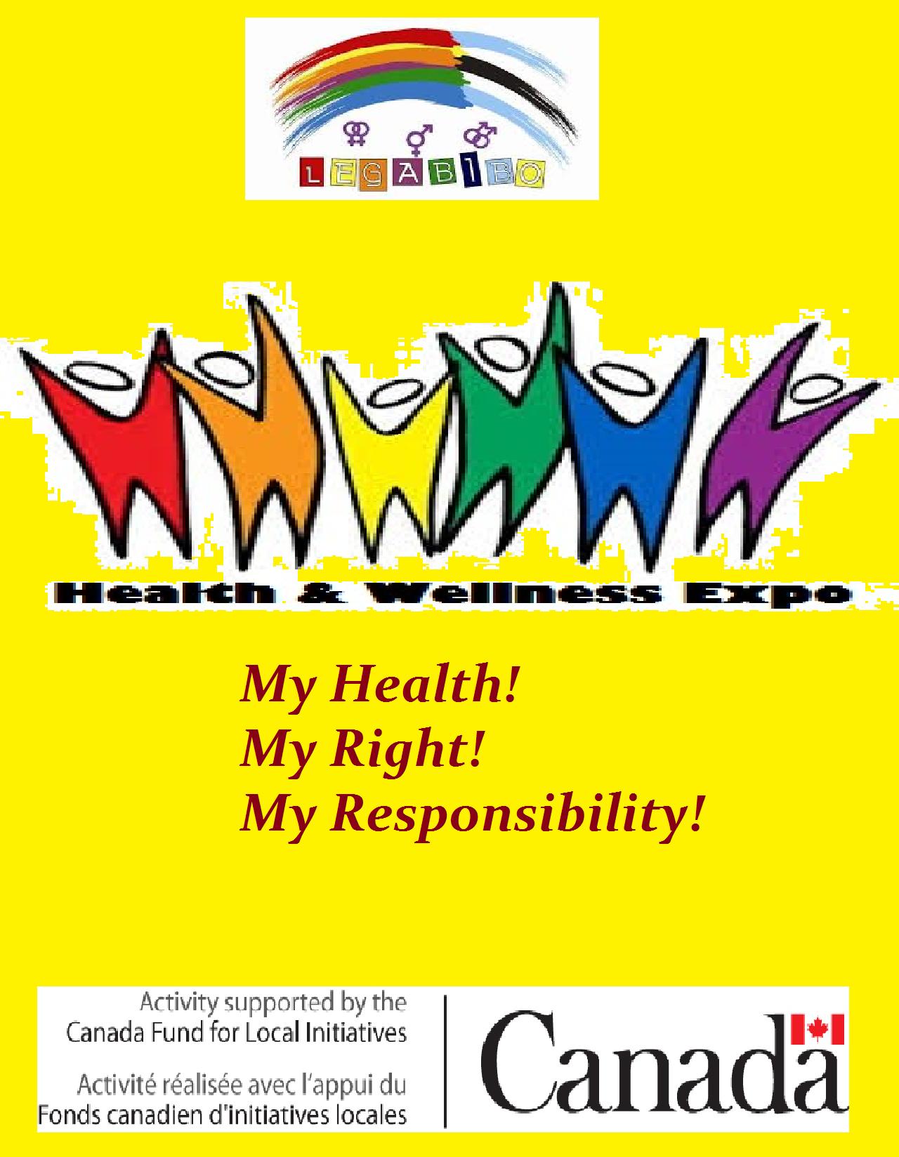 LeGaBiBo Health And Wellness Expo LEGABIBO