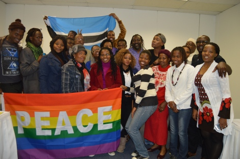 Participants of the Sexuality, Faith and Human Rights dialogue.